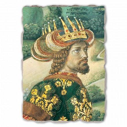 """Gozzoli """"Procesja Trzech Króli z królem Melchior"""" freski włoskie- duże"""