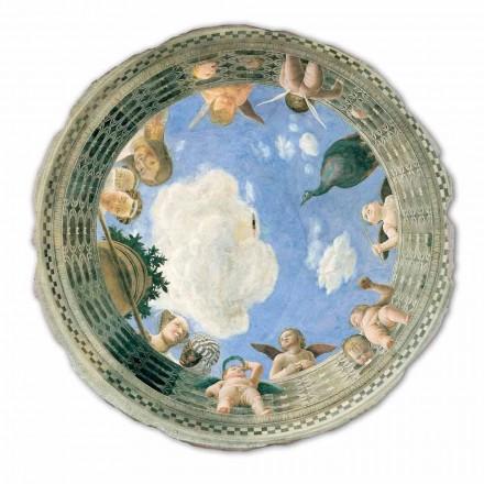 """Freski duże Andrea Mantegna """"Oculo con Putti e Dame Affacciati"""""""