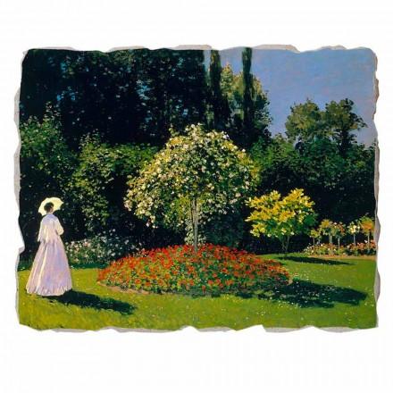 """Claude Monet """" Kobieta w Ogrodzie"""" freski reprodukcja- duże"""