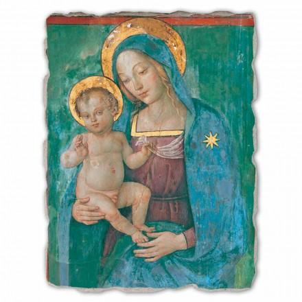 """Freski od Pinturicchio duże """"Matka Boska z Dzieciątkiem"""""""