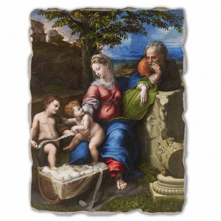 "Freski R. Sanzio ""Sacra Famiglia sotto la Quercia"" - duże"