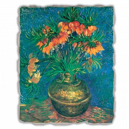 """Vincent Van Gogh """" Szachownica w miedzianym wazonie"""" freski duże"""
