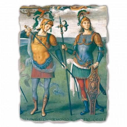 """Perugino """"La Fortezza, la Temperanza e sei Eroi dell'Antichità"""" Freski"""