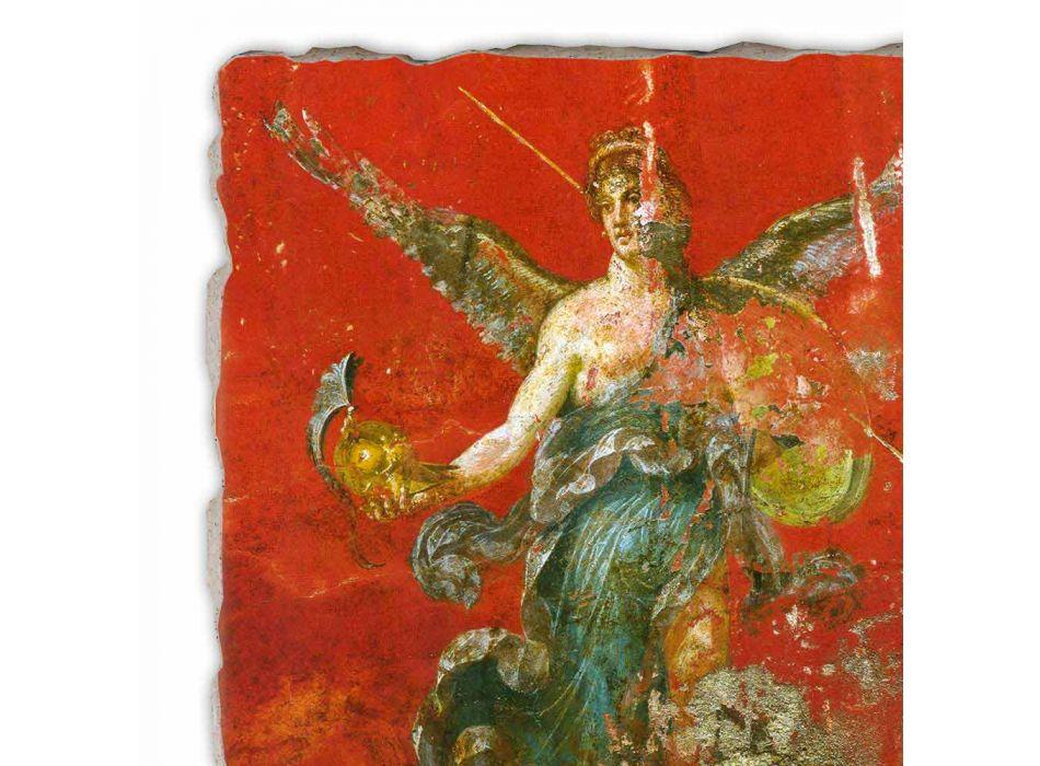 """Roman reprodukcją fresku """"Cykl Muz"""" część."""