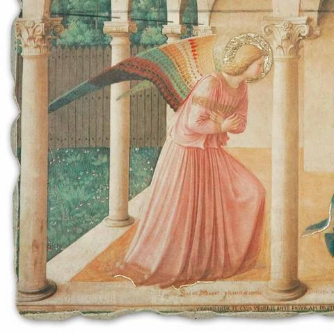 """Beato Angelico reprodukcją fresku """"Zwiastowanie"""" handmade"""