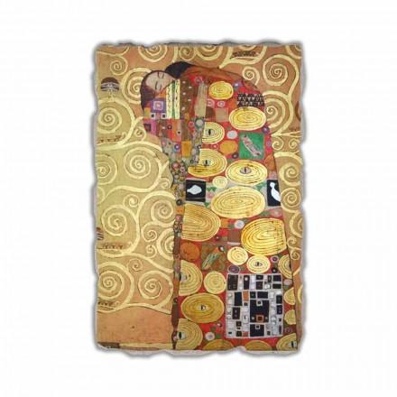 """Gustav Klimt """" Spełnienie"""" freski wykonane we Włoszech"""