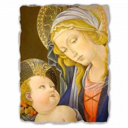 "Freski reprodukcja Botticelli ""Madonna del Libro"" duże"