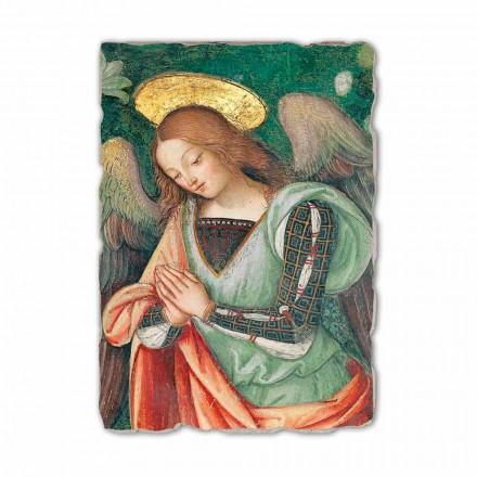 """Freski Pinturicchio """" Narodzenie"""" szczegół- Anioł"""