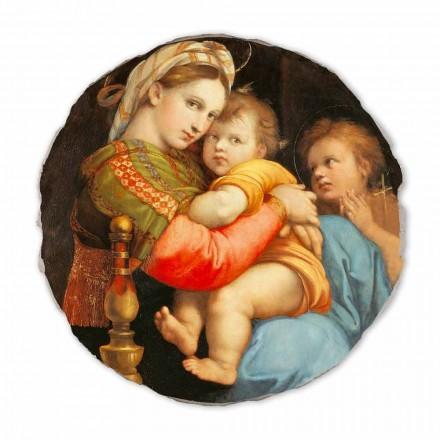 """Raffaello Sanzio """"Madonna della Seggiola"""" freski reprodukcje"""