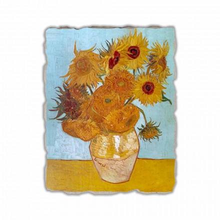 "Vincent Van Gogh "" Słoneczniki"" freski reprodukcja"