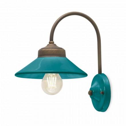 Lampa ścienna ceramiczna kolorowa Alice Ferroluce