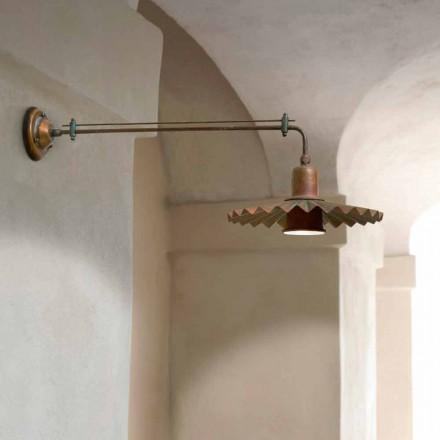 Kinkiet nowoczesny design, linia Civetta od Aldo Bernardi