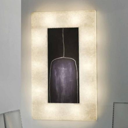 Nowoczesna lampa ścienna In-es.artdesign Lunar Bottle 2 in nebulite
