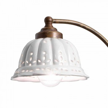 Art nouveau aplikacja konstrukcja ceramiczna Anita Il Fanale