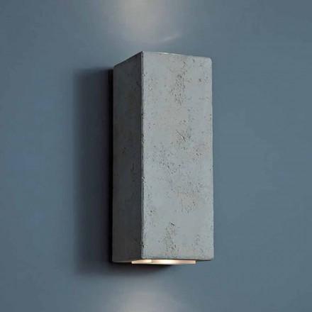 Lampa zewnętrzna LED design z gliny o wysokości 24cm Smith - Toscot