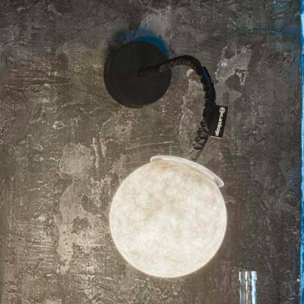 Współczesne oświetlenie ścienne In-es.artdesign Lampka ścienna Nebulite Micro Luna
