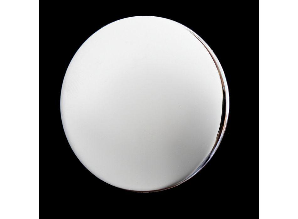 3-otworowa bateria umywalkowa z wysoką wylewką z klasycznego ręcznie robionego mosiądzu - Fioretta