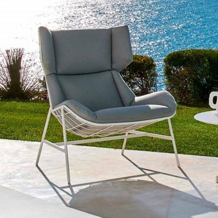 Nowoczesny fotel ogrodowy bergere marki Varaschin Summer Set