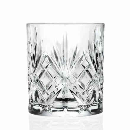 Podwójne staroświeckie szkło Eco Crystal 12 sztuk - Cantabile