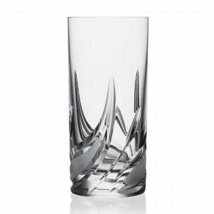 Szklanka do koktajli Highball Tumbler High Crystal, 12 sztuk - Adwent