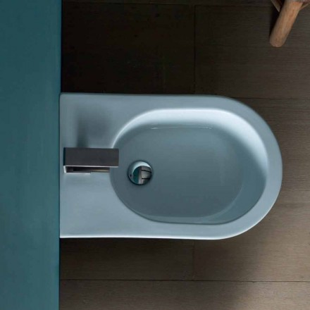 Nowoczesny design ceramiczny bidet 57x37cm Sun, wyprodukowany we Włoszech