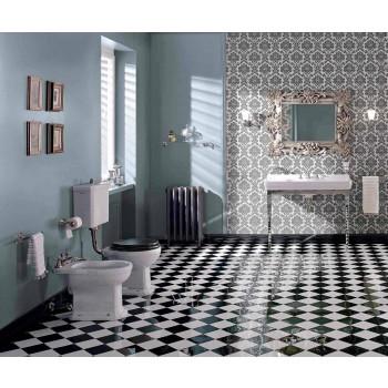 Bidet w białej lub czarnej klasycznej ceramice od podstaw Made in Italy - Marwa