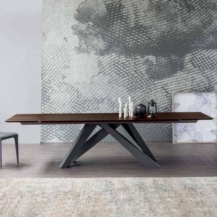 Bonaldo Big Table stół rozkładany drewniany made in Italy