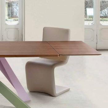 Stół do fornirowania z drewna stołowego Bonaldo Big Table wykonany we Włoszech