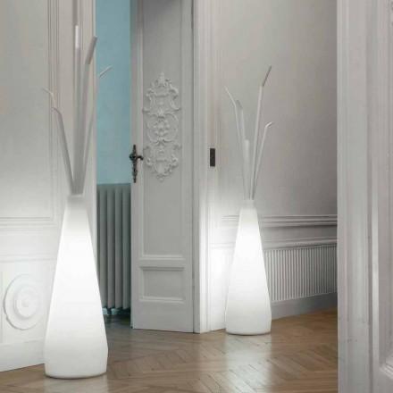 Wieszak na ubrania Bonaldo Kadou z lampką z polietylenu wyprodukowany we Włoszech