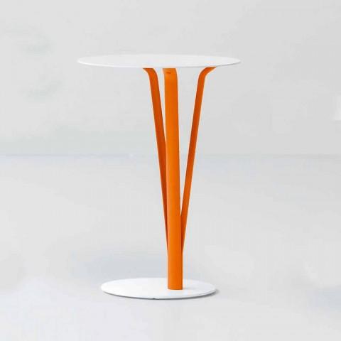 Stół designerski Bonaldo Kadou z malowanej stali D39cm wykonanej we Włoszech