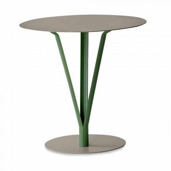 Stół designerski Bonaldo Kadou wykonany ze stali D50cm wyprodukowanej we Włoszech