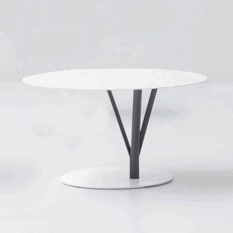 Stół designerski Bonaldo Kadou wykonany ze stali D70cm wykonanej we Włoszech