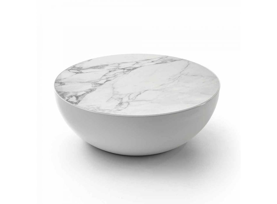 Projekt stołu ceramicznego Bonaldo Planet wykonany w Calacatcie we Włoszech