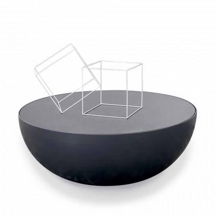 Bonaldo Planetstolik kawowy design z kryształu made in Italy