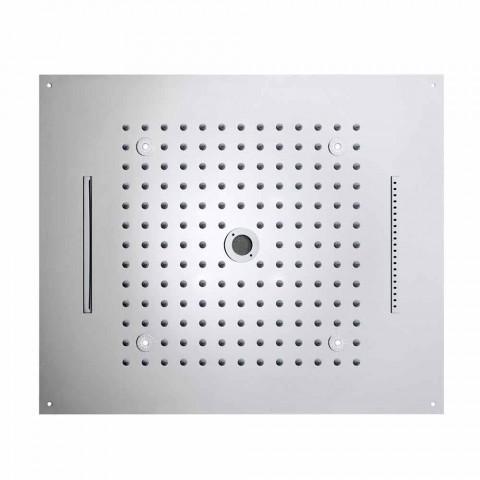 Bossini Sen Nowoczesna głowica prysznicowa z oświetleniem LED i czterema funkcjami
