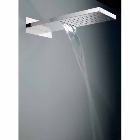 Bossini Manhattan głowica prysznicowa ze stali nierdzewnej z dwoma palnikami