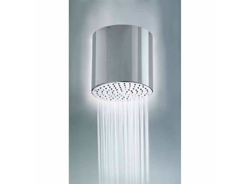 Bossini Oki Głowica 200 prysznicowy z nowoczesnym wzornictwem w strumieniu