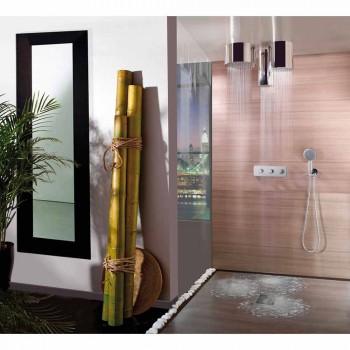 Bossini Oki okrągła głowica prysznicowa w nowoczesnym stylu odrzutowego