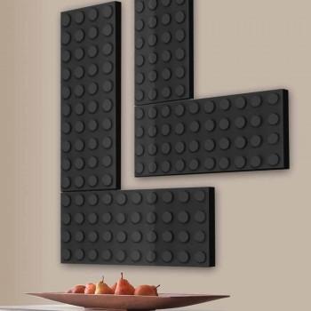 Grzejnik elektryczny lego cegła wykonane we Włoszech przez Scirocco H
