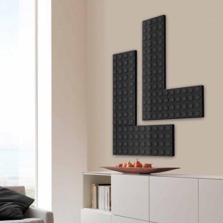 Brick grzejnik dekoracyjny lego hydrauliczny Scirocco H, made in Italy