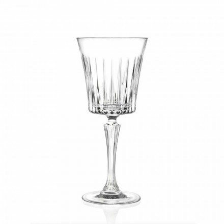 Luksusowy projekt kieliszków do wina i koktajli z Eco Crystal 12 sztuk - Senzatempo