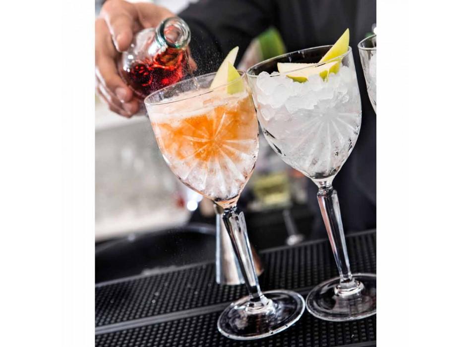 12 sztuk ekologicznych kryształowych kieliszków do wina lub wody - Daniele
