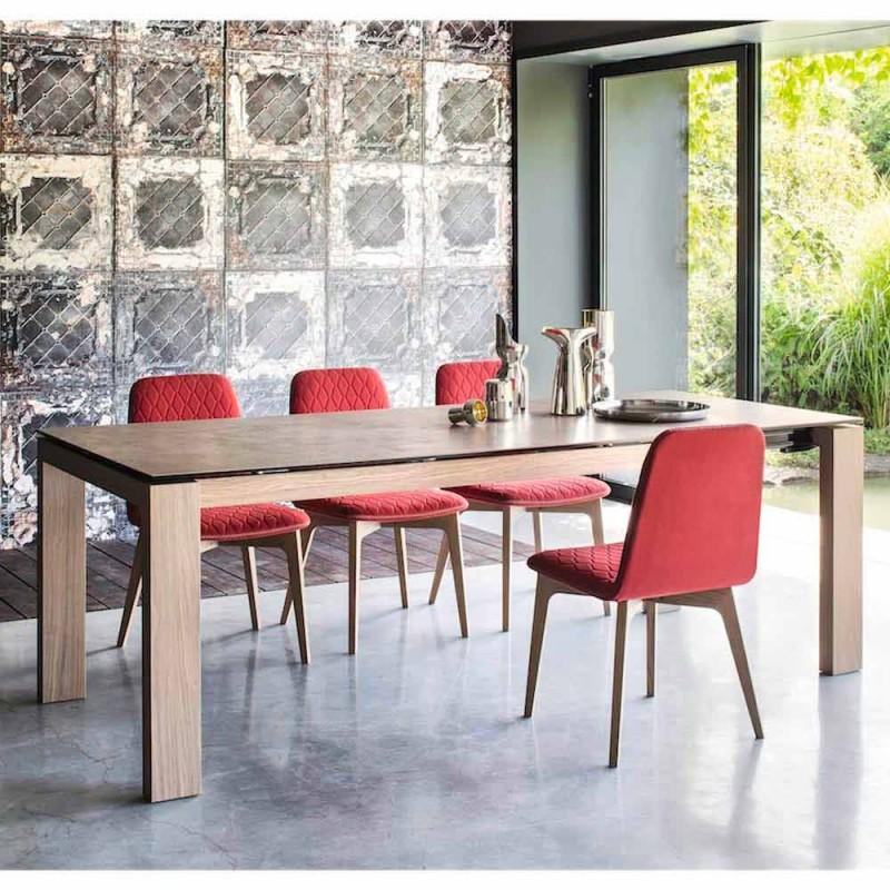 Sigma Calligaris Nowoczesne przedłużenia stół do 220 cm ceramiczny