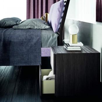 Kompletna 6-elementowa luksusowa sypialnia Made in Italy - Adige