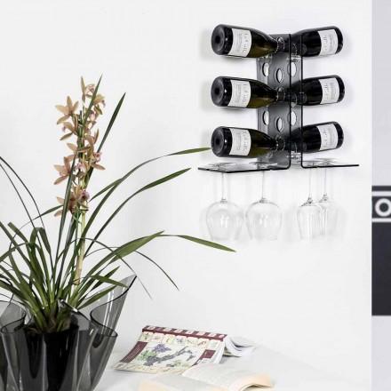 Wnęka na wino LUNA o nowoczesnym wzornictwie