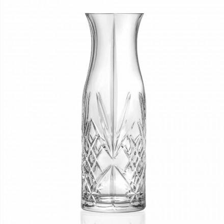 Dzbanek do wody lub wina Eco Crystal w stylu vintage 4 sztuki - na półce