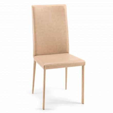 Carly krzesło do jadlani nowoczesny design, produkcja we włoszech