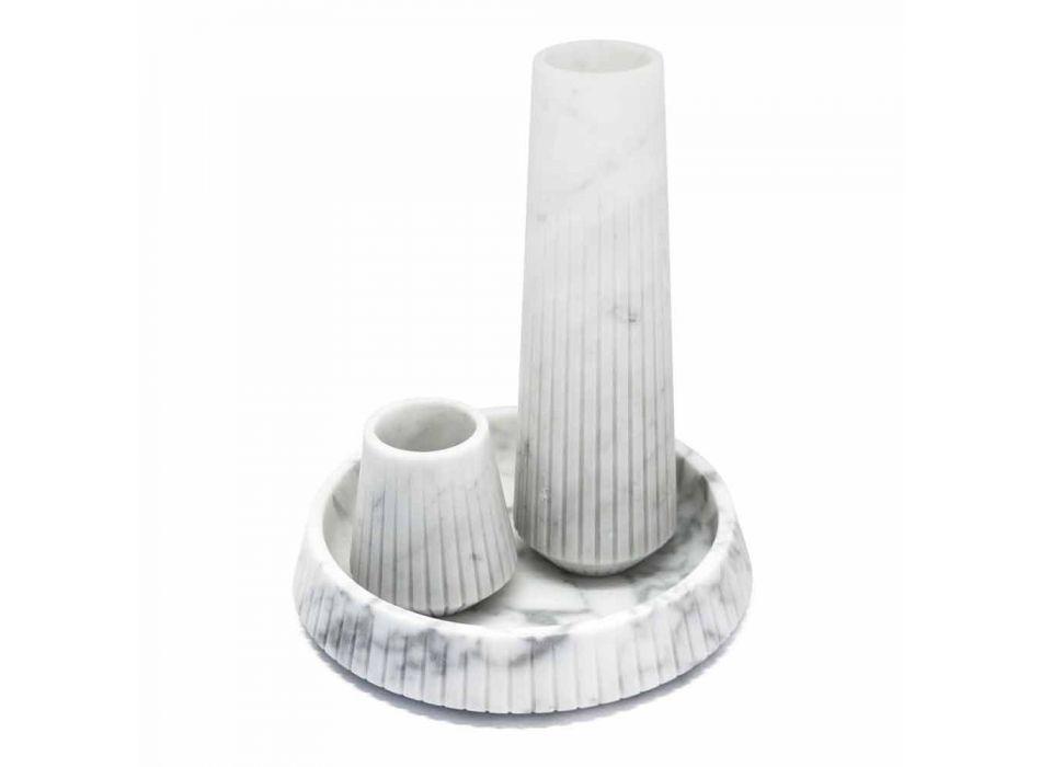 Biała marmurowa centralna stylistyka Made in Italy - Bryan