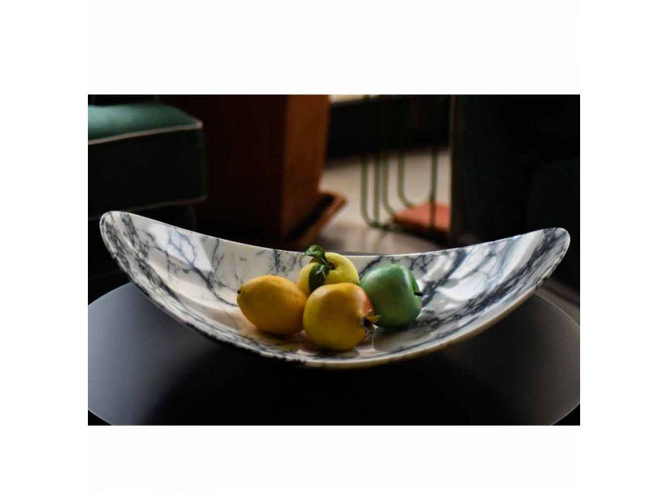 Centralny element z marmuru Paonazzo z Made in Italy Design - Libeccio