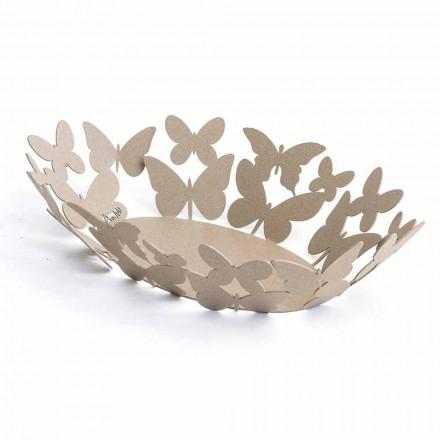 Nowoczesny owalny centralny element wykonany z ręcznie wykonanego ze szlachetnego żelaza ręcznie robionego we Włoszech - Leiden